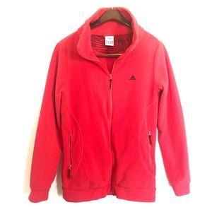 Full Zip Adidas Fleece Womens Jacket